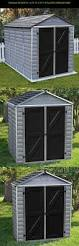 Wood Storage Sheds Sears by Best 25 Plastic Storage Sheds Ideas On Pinterest Rubbermaid