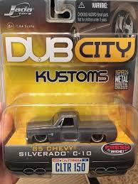 100 85 Chevy Truck Parts Jada Toys Dub City Kustoms Silverado C10 For Sale