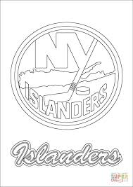 Click The New York Islanders Logo Coloring Pages To View Printable