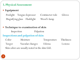 Woods Lamp Examination Images by Faculty Of Nursing Iug Ppt Video Online Download