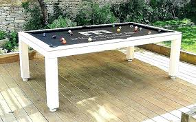 Dining Table Pool New Tables As Room Combination Sale
