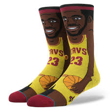 Stance Lebron James Socks - Yellow