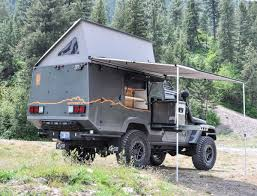 Off-road Camper: This Burly Truck Is Expedition Ready - Curbed Side Shelve For Storage Truck Camping Ideas Pinterest Fiftytens Threepiece Truck Back Hauls Cargo And Camps In The F150 Camping Setup Convert Your Into A Camper 6 Steps With Pictures Canoe On Wcap Thule Tracker Ii Roof Rack System S Trailer The Lweight Ptop Revolution Gearjunkie Life Of Digital Nomad Best 25 Bed Ideas On Buy Luxury Truck Cap Camping October 2012 30 For Thirty Diy