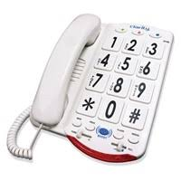 Clarity JV35W 50dB Amplified Telephone with Tal The ideal phone for hearing loss or low vision