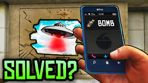 GTA 5 Easter Eggs SECRET PHONE NUMBER BOMB MYSTERY SOLVED GTA 5 Black Cellphone Mystery