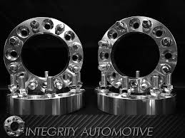 100 8 Lug Truck Wheels X65 Wheel Spacers 4 Inches Thick For Dodge S X1651 9