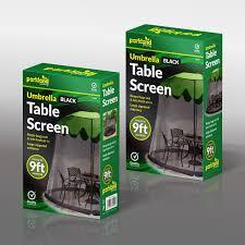 Ebay Patio Table Umbrella by Garden Umbrella Table Screen Enclosure Bugs Mosquitoes Patio