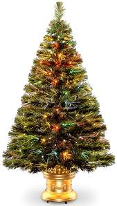 Fiber Optic Christmas Trees by Amazon Com National Tree 48 Inch Fiber Optic Radiance Fireworks