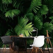 details zu vlies fototapete dschungel wald grün natur wohnzimmer