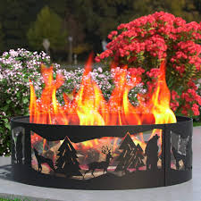 Fire Pit Base Ideas Home And Interior Diy Firepit Homebnc
