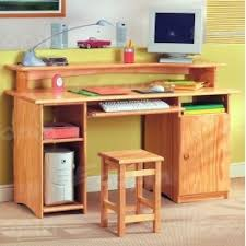 bureau informatique bureau informatique en pin bali 2 ecopin meubles en pin