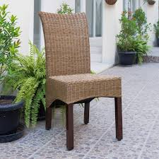 Manila Abaca And Rattan Wicker Basket Weave Dining Chairs With Mahogany  Hardwood Frame (Set Of 2) - Salak Brown Modway Endeavor Outdoor Patio Wicker Rattan Ding Armchair Hospality Kenya Chair In Black Desk Chairs Byron Setting Aura Fniture Excellent For Any Rooms Bar Harbor Arm Model Bhscwa From Spice Island Kubu Set Of 2 Hot Item Hotel Home Office Modern Garden J5881 Dark Leg