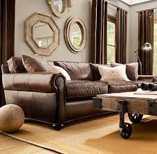 Brown Leather Sofa Living Room Ideas living room leather furniture living room