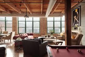 100 Urban Loft Interior Design Chicago Industrial Space By CK