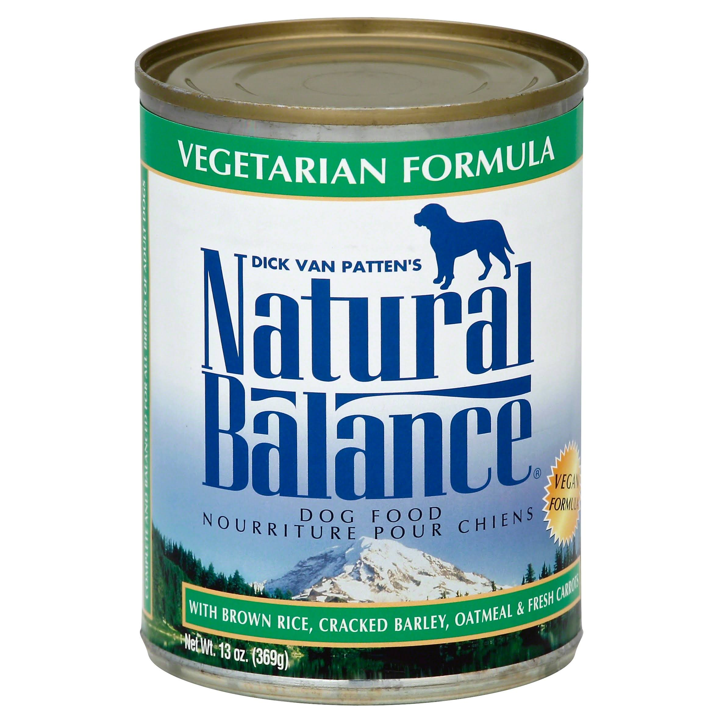 Natural Balance Vegetarian Formula Dog Food