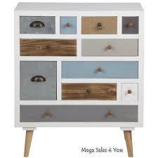 Tool Box Dresser Diy by Scandinavian Chest Of Drawers Wooden Multi Color Storage Unit