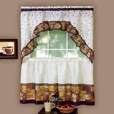 Burlap Kitchen Curtains Valance