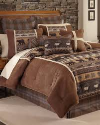 Rustic Bedding Cabin Lodge Sets