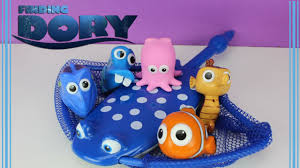 finding dory toy video dive catch game w nemo dory hank