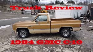 1984 GMC C-10 Review