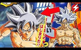We Have 100 Confirmation Of Gokus New Form Which Is Called Perfected Ultra Instinct It Goku With Silver Hair This The White Super Saiyan
