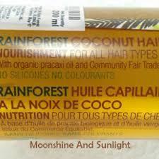 The Body Shop Rainforest Coconut Oi
