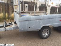 ARMSLIST For Sale Trade ford truck bed trailer with headache