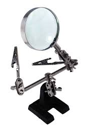 Desktop Magnifying Lamp Canada by Magnifying Glass Workstation With Desktop Stand 5x Magnification