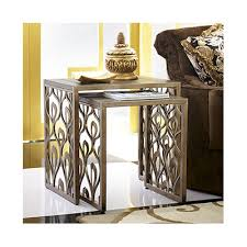 hammary bob mackie 2 piece nesting tables reviews wayfair