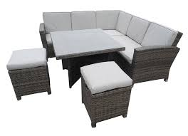 patio sofa dining set awesome outdoor sofa and dining table rattan outdoor corner sofa