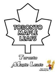 Toronto Maple Leafs Hockey Free Coloring Pages Nhl East