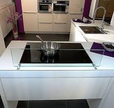 spritzschutz ohne bohren spritzschutz küche herd glas esg
