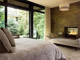 banc chambre coucher design interieur chambre coucher moderne grand lit cheminée banc