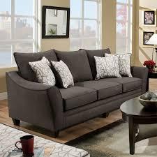 Chelsea Home Furniture 4040 Cupertino Sofa in Flannel Seal