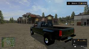 1992 GMC Sierra One Ton Truck - Mod For Farming Simulator 2017 - Pick-up