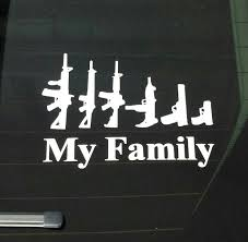 My Family Guns Stick Figure Vinyl Decal Sticker Funny For Auto Nobody Cares About Your Stick Figure Family For Jeep Wrangler Free Shipping Bitch Inside Bad Mood Graphic Funny Car Sticker For Stickers Fun Decals Cars Best Paper Printer Tags Matte Truck Personality Warning Boobies Make Me Smile Own At Home Fridge Ideas On Pinterest Bessky 3d Peep Frog Window Decal Graphics Back Off Bumper Humper Tailgate Vinyl Creative Mum Baby Board Waterproof My Guns Auto Prompt Eyes