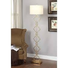 Creative of Quatrefoil Floor Lamp Gold Leaf Moroccan Floor Lamp