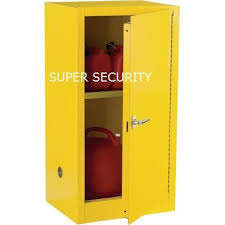 lockable safety fireproof flammable storage cabinet for solvent