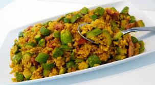 cuisine du riz riz bomba aux courgettes la recette facile par toqués 2 cuisine