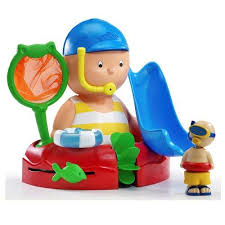 caillou bath time with you playset babycenter