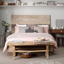 Endearing Reclaimed Wood Bed Frame