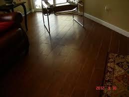 uneven floor tile