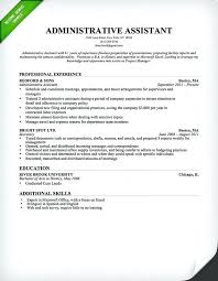 Office Clerk Resume Samples Administrative Assistant Sample General Examples