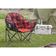 100 Oversized Padded Folding Chairs Guide Gear Club Camp Chair 500lb Capacity 703611
