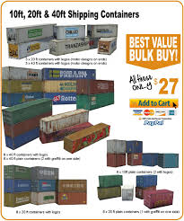 100 40 Ft Cargo Containers For Sale Scale Shipping Container Models HOME