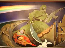 Denver International Airport Murals Removed by 28 Denver International Airport Murals Removed Mural At