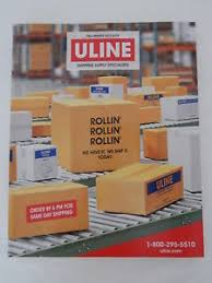 Image Is Loading ULINE Shipping Supply Specialists Catalog Fall Winter 2017