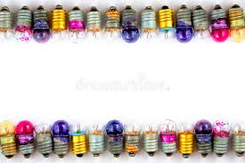 small colored light bulbs white background 67467154 jpg