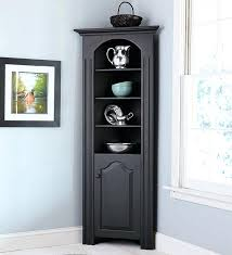 Small Cabinet For Dining Room Black Corner Tall Narrow