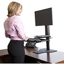 Kangaroo Standing Desk Dual Monitor by Amazon Com Ergo Desktop Kangaroo Pro Junior Office Products